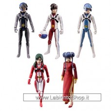 Robotech Set of 5 Posable Action Figures