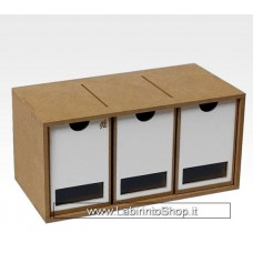 Hobby Zone - Drawers Module x 3 - OM01b