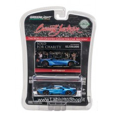 """Greenlight - 2018 Barrett Jackson """"Scottsdale Edition"""" 2017 Ford GT. EXCLUSIVE 1:64 scale diecast collectible model"""