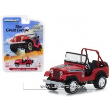 Greenlight - 1974 Jeep CJ-5 Renegade `The Great Escape` Advertisement Car Exclusive (Diecast Car)