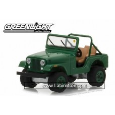 Greenlight - Mecum Auctions - 1974 Jeep CJ-5 Green Dallas