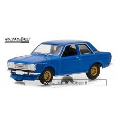 Greenlight - Tokyo Torque - 1968 Datsun 510 Blue