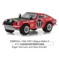 Greenlight - Tokyo Torque - 1971 Datsun 240Z Rally Red
