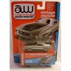 Auto World 1:64 - Vintage Muscle - 1972 Ford Mustang Mach 1