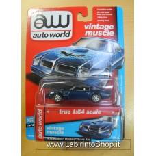 Auto World 1:64 - Vintage Muscle - 1976 Pontiac Firebird Trans Am