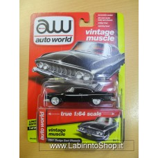 Auto World 1:64 - Vintage Muscle - 1961 Dodge Dart Phoenix Black