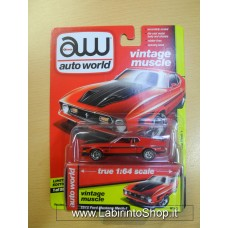 Auto World 1:64 - Vintage Muscle - 1972 Ford Mustang Mach 1 Red