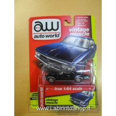 Auto World 1:64 - Vintage Muscle - 1966 Chevy Chevelle SS 396 Black