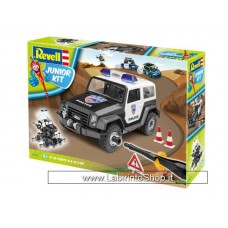Revell 00807 Junior Kit Offroad Vehicle Police