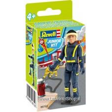 Revell 00752 Junior Kit Fire Man
