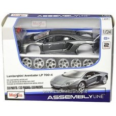 Maisto - Lamborghini Aventador Coupe' -  Die Cast Model Kit