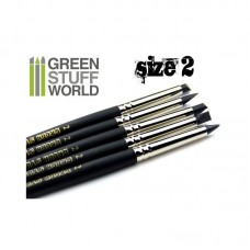 Colour Shapers Brushes SIZE 2 - BLACK FIRM