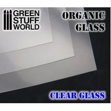 Organic GLASS Sheet - Clear