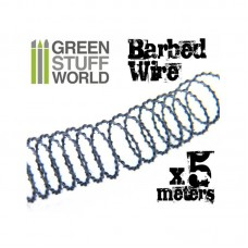 Green Stuff World 5 meters of simulated BARBED WIRE