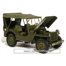 Welly - Scale 1/18 - Jeep Willys US Army