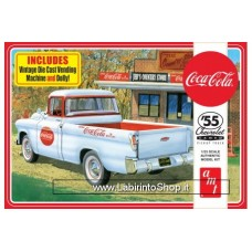 AMT 2017 Chevy Cameo Pickup Coca Cola 1955 1/25 Model Kit