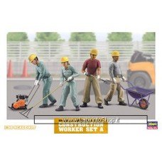 Hasegawa Construction Worker Set A 1/35 model kit