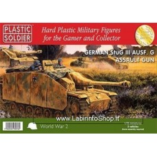 Plastic Soldier World War 2 German StuG III Ausf. G Assault Gun