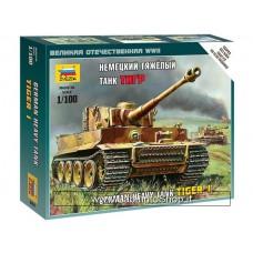 Zvezda 6256 German Heavy Tank Pz.Kpfw. VI Tiger I 1/100