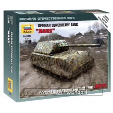 Zvezda 6213 German SuperHeavy Tank Maus 1/100