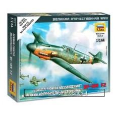 Zvezda 6116 German Fighter Messerschmitt BF-109 F2 1/144