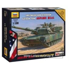 Zvezda 7405 Us Main Battle Tank M1A1 Abrams 1/100