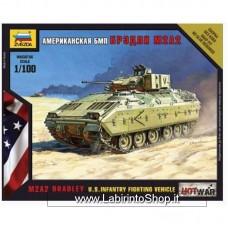Zvezda 7405 Us Infantry Fighting Vehicle M2A2 Bandley 1/100