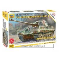 Zvezda 5023 King Tiger Ausf. B 1/72 montaggio senza colla