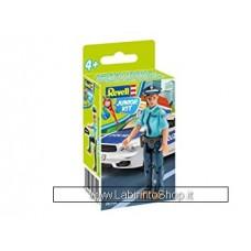 Revell - Junior Kit 00750 Police Woman Model Kit
