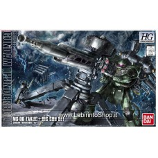 Zaku II + Big Gun (Gundam Thunderbolt Ver.) (HG) (Gundam Model Kits)