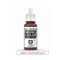Vallejo Model Color Burnt Red 034 17ml