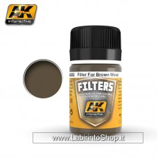 AK Interactive - AK262 - Filters - Red Brown for Wood