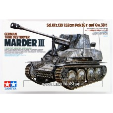 Tamiya 35248 German Tank Destroyer Marder III 1/35 Scale Kit