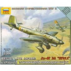 Zvezda 6123 German Dive Bomber Ju-87 B2 Stuka 1/144