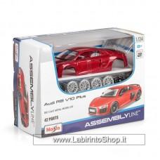 Maisto - Assembly Line - Audi R8 V10 Plus - 1/24