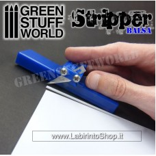 Green Stuff Balsa Stripper