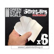 Green Stuff World Flexible Steel Scrapers