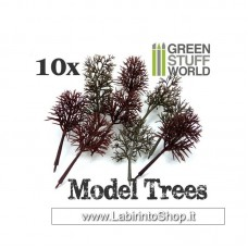 Green Stuff World 10x Model Tree Trunks