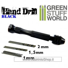 Green Stuff World Hand Drill Black Color