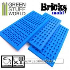 Green Stuff World Silicone molds - BRICKs