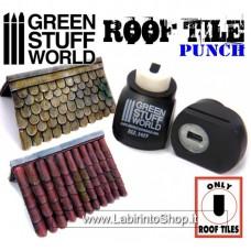 Green Stuff World Miniature ROOF TILE Punch