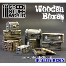 Green Stuff World Wooden Boxes Set