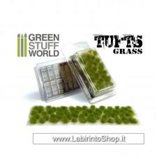 Green Stuff World Grass TUFTS - 6mm self-adhesive - REALISTIC GREEN