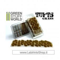 Green Stuff World Grass TUFTS - 6mm self-adhesive - DRY BROWN
