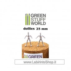 Green Stuff World Flexible Armatures in 25 mm
