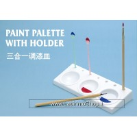 Trumpeter Master Tools Paint Palette With Holder