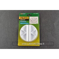 Trumpeter Master Tools Paint Palette With Brush Rest