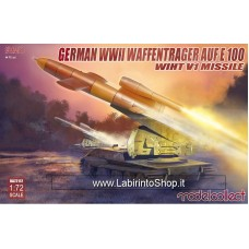 Model Collect German WWII e-100 Panzer Weapon Carrier with V1 MIssile Luncher (1/72)