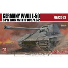 Model Collect German WWII E-50 SPG Gun With 105/L62 (1/72)