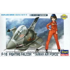 Hasegawa EggPlane Series F-16 Fighting Falcon Taiwan Air Force
